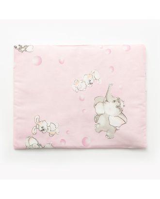 Подушка, размер 30*40 см, цвет розовый, набивка МИКС 214 арт. СМЛ-33903-1-СМЛ1208650