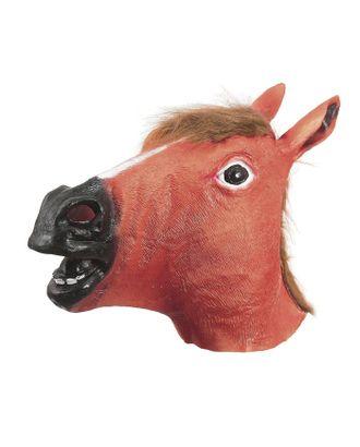 Карнавальная маска «Лошадь», цвет белый арт. СМЛ-100588-3-СМЛ0001208658