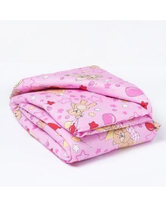 Одеяло, размер 110*140 см, цвет розовый, набивка МИКС 623 арт. СМЛ-30856-1-СМЛ1208703