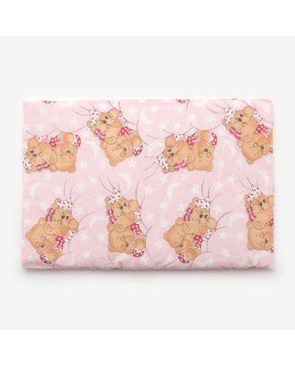 Подушка, размер 40*60 см, цвет розовый, набивка МИКС 224 арт. СМЛ-33904-1-СМЛ1208704