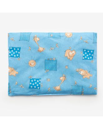 Подушка, размер 30*40 см, цвет голубой, набивка МИКС 214 арт. СМЛ-33905-1-СМЛ1208705