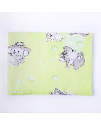 Подушка, размер 30*40 см, цвет зелёный, набивка МИКС 214 арт. СМЛ-33906-1-СМЛ1209014