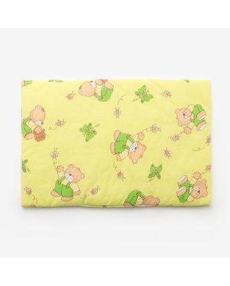 Подушка, размер 40*60 см, цвет зелёный, набивка МИКС 224 арт. СМЛ-33907-1-СМЛ1209015