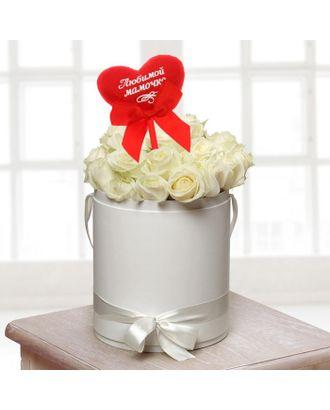 Мягкая игрушка на палочке «Любимой мамочке», сердце арт. СМЛ-125197-1-СМЛ0001210598