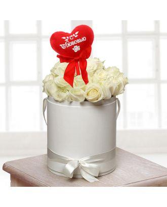 Мягкая игрушка на палочке «С любовью», сердце арт. СМЛ-125199-1-СМЛ0001210601
