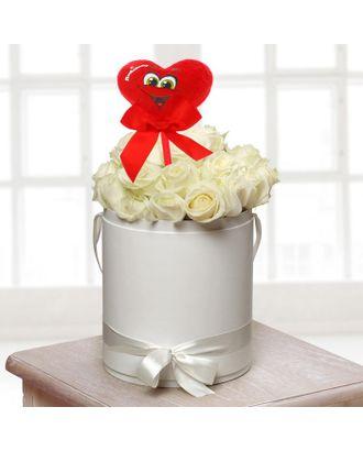 Мягкая игрушка на палочке «С любовью», веселое сердце арт. СМЛ-125193-1-СМЛ0001210602