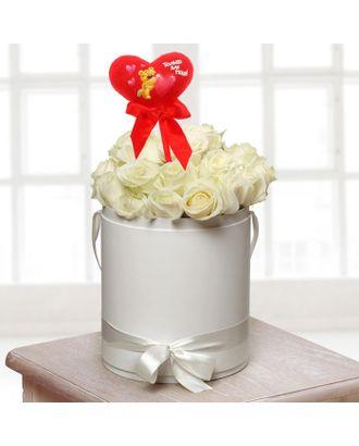 Мягкая игрушка на палочке «Только для тебя», сердце арт. СМЛ-125194-1-СМЛ0001210604
