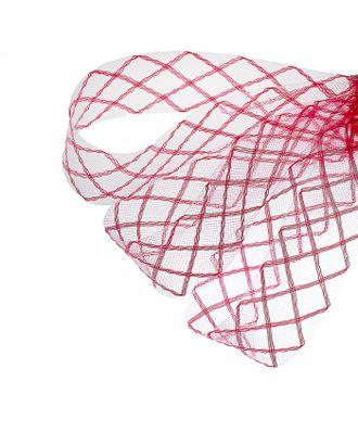 """Регилин плоский """"Клетка"""" ш.4,5 см арт. СМЛ-21355-8-СМЛ1228173"""