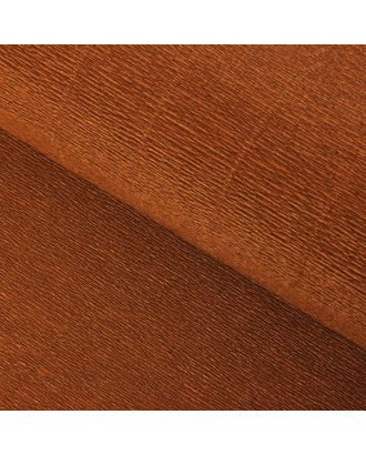 """Бумага гофрированная, 968 """"Коричневая (какао)"""", 50 см х 2,5 м арт. СМЛ-33908-1-СМЛ1242744"""
