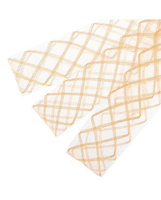 """Регилин плоский """"Клетка"""" ш.4,5 см арт. СМЛ-21355-6-СМЛ1286331"""