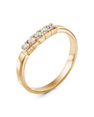 """Кольцо позолота """"Дорожка"""" одинарная, 17 размер арт. СМЛ-33599-1-СМЛ1287476"""