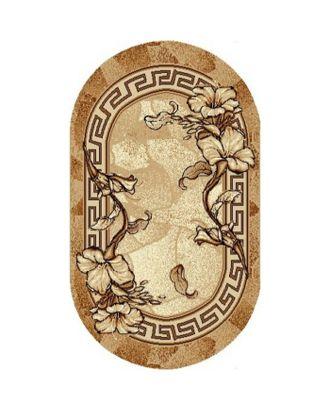 Ковер Золушка, размер 100х200 см, овальный 030/1 арт. СМЛ-29769-1-СМЛ1297887