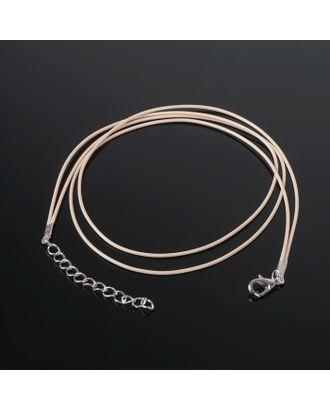 Шнурок вощеный, 43 см с удлинителем, JF-010 арт. СМЛ-20737-2-СМЛ1308705