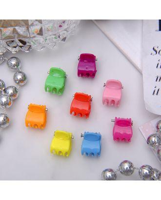 """Крабики для волос """"Мини"""" (набор 100 шт.) разноцветные арт. СМЛ-1015-1-СМЛ1340408"""