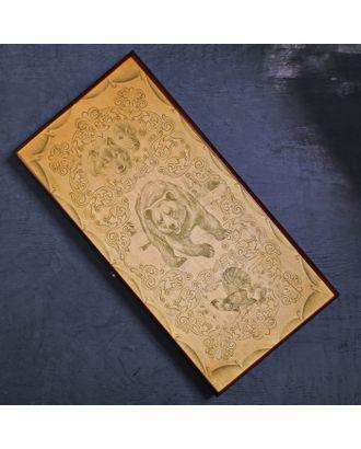 Нарды средние «Медведь» 50 × 50 см арт. СМЛ-120235-1-СМЛ0001350597