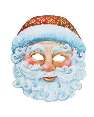 Маска карнавальная «Дед Мороз» арт. СМЛ-106299-1-СМЛ0001363041