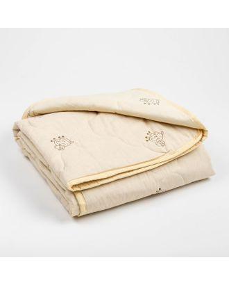 Одеяло Адамас облегчённое Овечья шерсть, размер 110х140±5 см, 200 г/м² арт. СМЛ-1078-1-СМЛ1365230