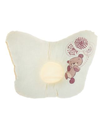 Подушка анатомическая «Шоколадный мишка», 20х25 см арт. СМЛ-33912-1-СМЛ1398339