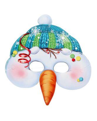 Маска карнавальная «Снеговик» арт. СМЛ-106301-1-СМЛ0001408254