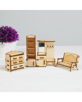 Набор мебели «Прихожая», 4 предмета арт. СМЛ-113314-1-СМЛ0001460965