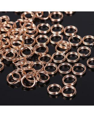 Кольцо соединительное двойное 0,6 мм (набор 50 гр, ±510 шт) СМ-1025 арт. СМЛ-20731-1-СМЛ1462459
