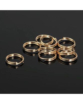 Кольцо соединительное двойное 0,9мм (набор 50 гр, ±310 шт) СМ-1028 арт. СМЛ-20823-2-СМЛ1462461