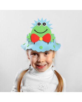 Карнавальная шляпа «Лягушка», вырезная арт. СМЛ-100581-1-СМЛ0001466656