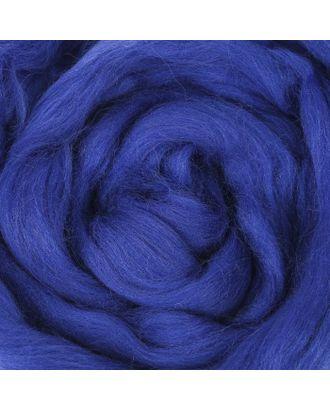 Шерсть для валяния 100% тонкая шерсть 50гр (26-Василек) арт. СМЛ-20364-1-СМЛ1482298