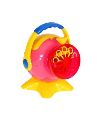 Генератор мыльных пузырей, вместимость 0,25 л арт. СМЛ-120276-1-СМЛ0001492643