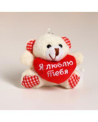 Подвеска «Я люблю тебя», мишка арт. СМЛ-120307-1-СМЛ0001500759