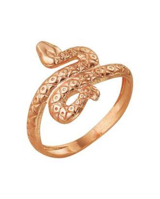 """Кольцо позолота """"Змея"""", 17 размер арт. СМЛ-30040-1-СМЛ1517733"""