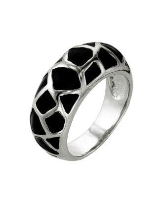"""Кольцо """"Леопард"""", посеребрение с оксидированием, 17,5 размер арт. СМЛ-110173-1-СМЛ0001557733"""