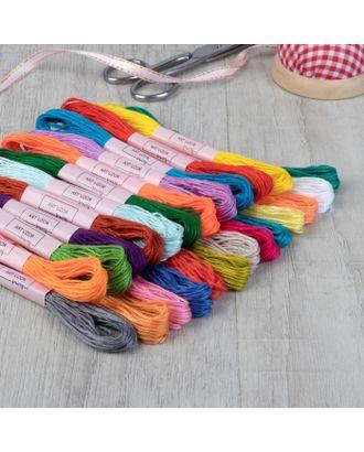 Набор ниток мулине, №1 - №5, 24 шт, 8±1м, разноцветный арт. СМЛ-30438-1-СМЛ1615619