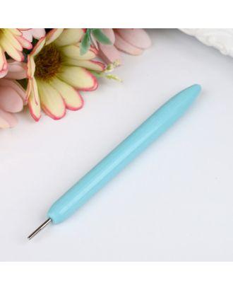 Инструмент для квиллинга с пластиковой ручкой, разрез 0,5 см, длина 10,5 см, МИКС арт. СМЛ-30717-1-СМЛ1682813