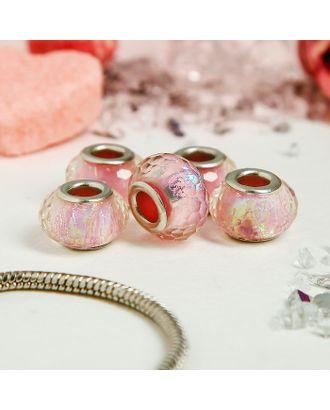 Бусина AB, цвет розовый арт. СМЛ-124859-1-СМЛ0001698383