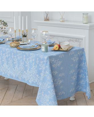 Набор столовый «Этель», скатерть 150 × 150 см, салфетки 40 × 40 см 4 шт., 100%-ный хлопок с ВМГО арт. СМЛ-19751-1-СМЛ1722406