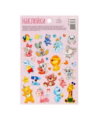 Бумажные наклейки «Любимые игрушки», 11 х 16 см арт. СМЛ-25703-1-СМЛ1733586