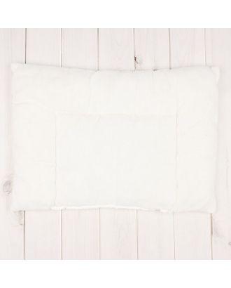 """Подушка """"Эдельвейс"""", размер 40х60 см, цвет белый 18016 арт. СМЛ-33941-1-СМЛ1793472"""