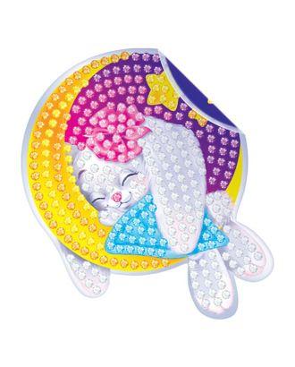 Алмазная вышивка наклейка для детей «Зайка» арт. СМЛ-120379-1-СМЛ0001814659