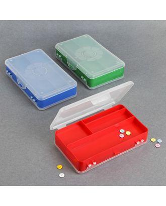 Контейнер для хранения принадлежностей, цвет МИКС арт. СМЛ-2085-1-СМЛ1829918