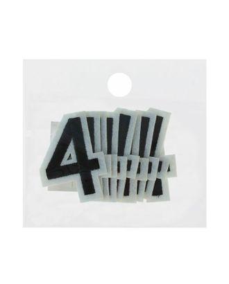 Термоаппликация «Цифра р.3,2х4,8 см арт. СМЛ-23503-2-СМЛ1876746