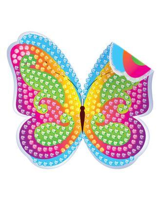 """Алмазная вышивка наклейка для детей """"Бабочка"""" арт. СМЛ-2246-1-СМЛ1895947"""
