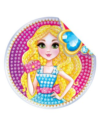 """Алмазная вышивка наклейка для детей """"Модница"""" арт. СМЛ-2248-1-СМЛ1895951"""