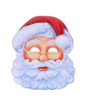 Маска карнавальная «Санта Клаус» арт. СМЛ-106355-1-СМЛ0001926717