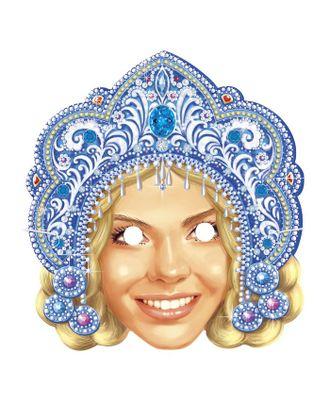 Маска карнавальная «Снегурка» арт. СМЛ-106357-1-СМЛ0001926719