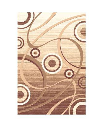 Ковёр Сфера, размер 200х450 см, цвет бежевый/белый, войлок 195 г/м2 арт. СМЛ-2351-1-СМЛ1951288
