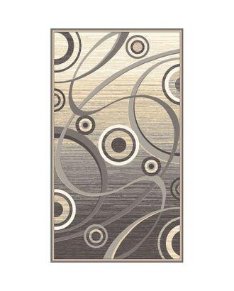 Палас Сфера, размер 200х500 см, цвет бежевый/серый, войлок 195 г/м2 арт. СМЛ-33226-1-СМЛ1951289