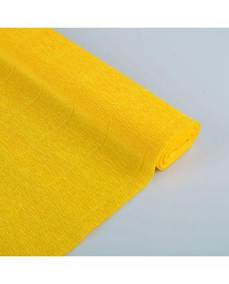 "Бумага гофрированная, 17E/5 ""Цветочно-жёлтая"" , 0,5 х 2,5 м арт. СМЛ-33944-1-СМЛ1954599"
