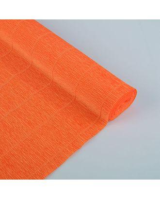 "Бумага гофрированная, 17E/6 ""Ярко-оранжевая"" , 0,5 х 2,5 м арт. СМЛ-33946-1-СМЛ1954604"