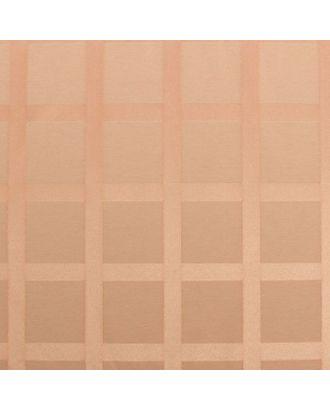 Ткань для столового белья с ГМО Геометрия ширина 155, длина 10 м, цвет капучино, пл. 192 г/м2 арт. СМЛ-30538-1-СМЛ2026062